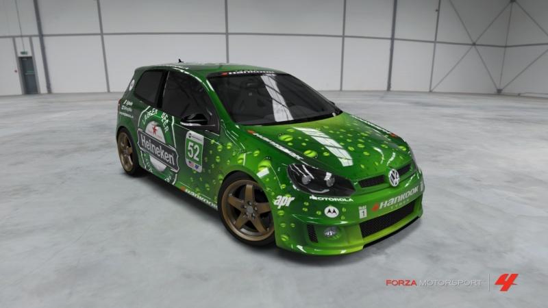 Volkswagen - Golf R '10 - Team Heineken Volksw13