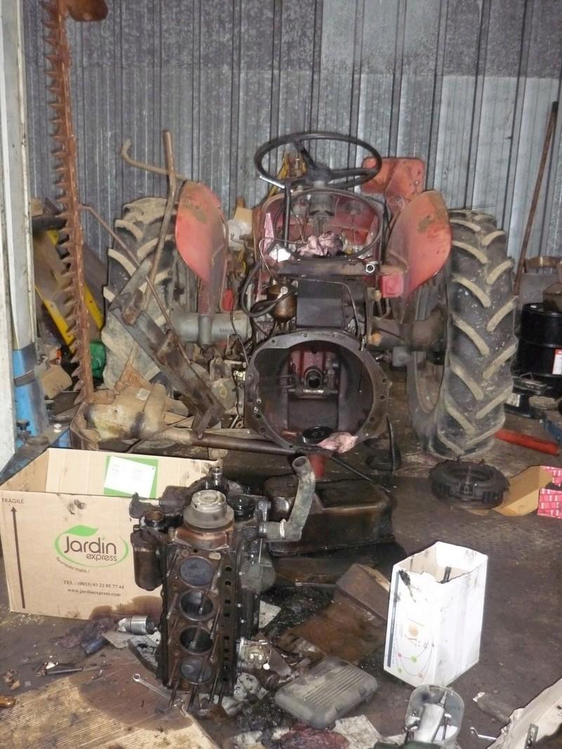 restauration - Restauration de mon Massey 825 (1961, moteur Perkins A4.107) P1030611