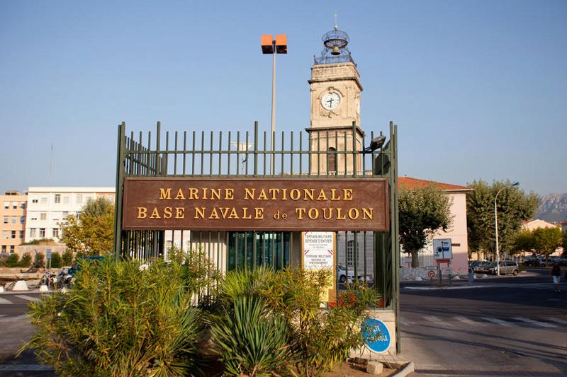 [LES PORTS MILITAIRES DE MÉTROPOLE] De la création de l'arsenal de Toulon à aujourd'hui la base navale Entree10