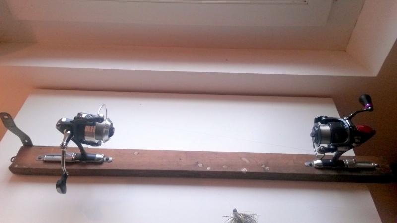 Remplir un moulinet sans vriller le fil ou la tresse. 20140114