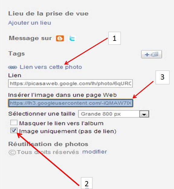Pour transférer de Picasa vers le forum Manip_11