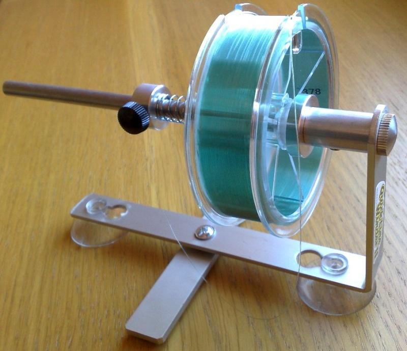 Remplir un moulinet sans vriller le fil ou la tresse. Quick-10