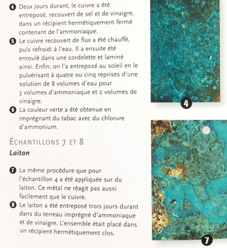 Patiner le bronze Image17