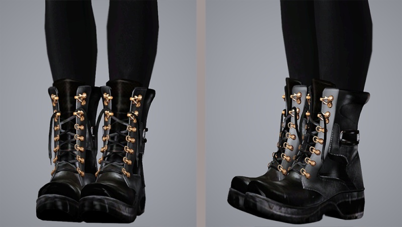 (solved)I'm looking for these 2 pairs of boots and this one hair....anybody? Tumblr10