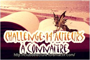 Challenge 14 Auteurs en 2014 Auteur10