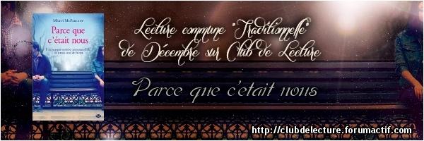 PARCE QUE C'ETAIT NOUS de Mhairi McFarlane Banpar10