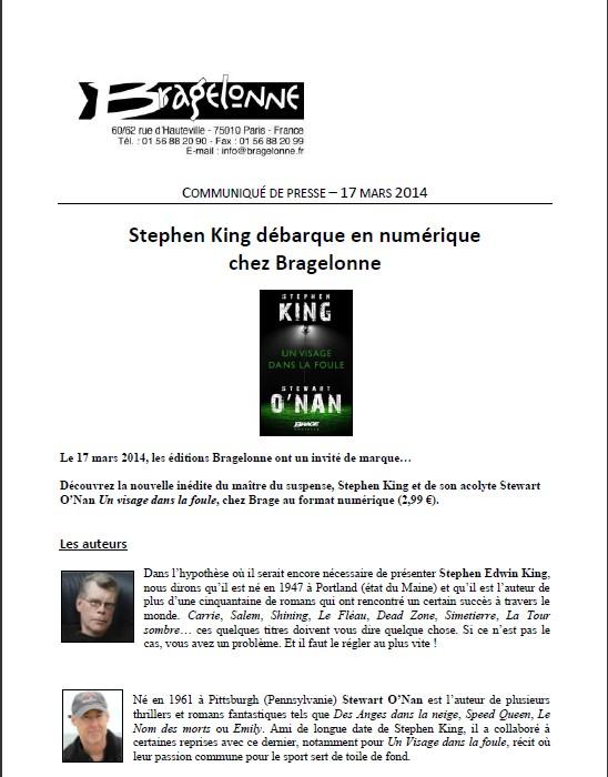 UN VISAGE DANS LA FOULE de Stephen King et Stewart O'Nan King110