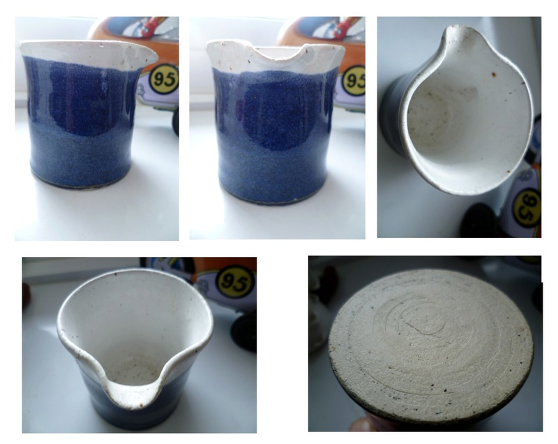 A little Beaker Style Creamer Milk Jug St Ives / Rye Looking Beaker10
