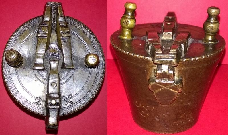pile à godets du type pile de Charlemagne  Wp_20236