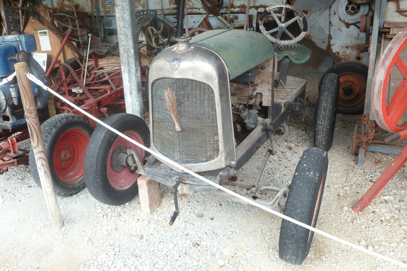 tracteurs agricoles artisanaux sur base CITROËN 05110