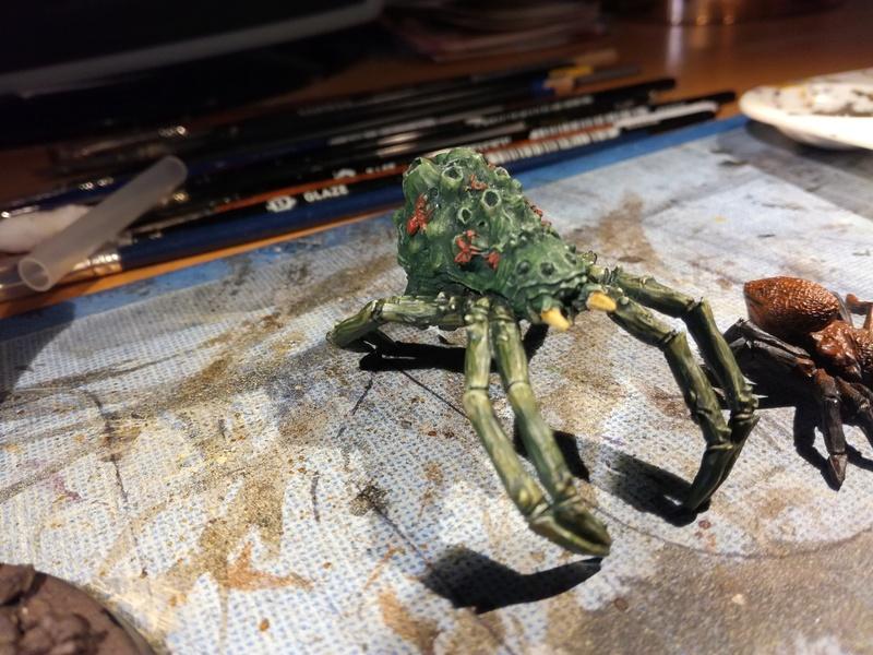 """Concours de peinture SDA n°5 - """"La reine des araignées """" Img_2021"""