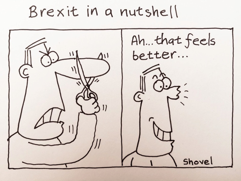 Political cartoons - Page 2 Brexit12