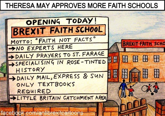 Should faith schools be funded by the taxpayer in the secular UK? Brexit19