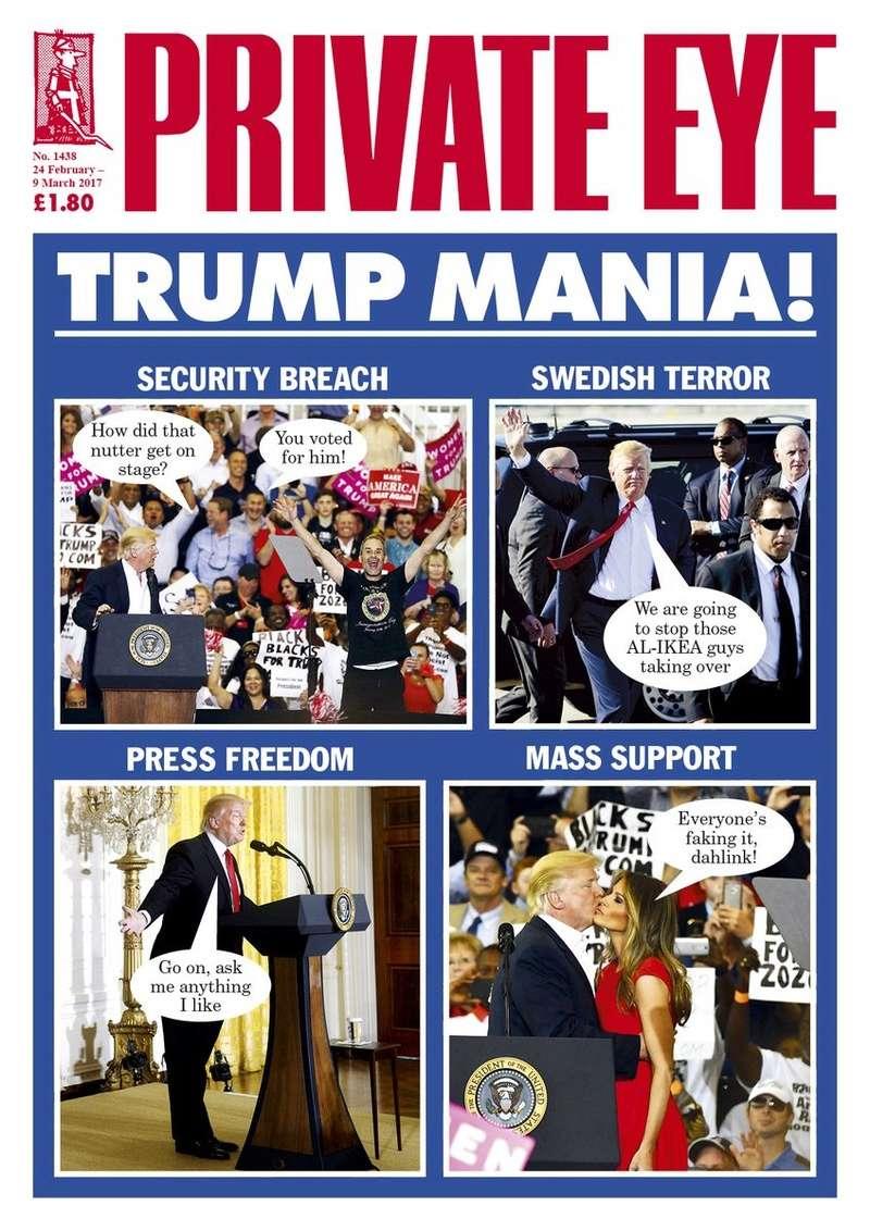 Trump's alternative universe Privat10