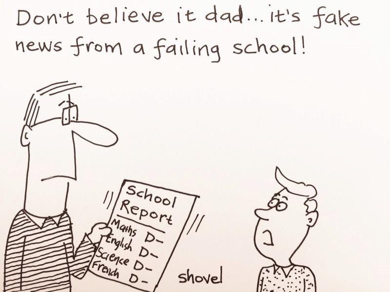 Political cartoons - Page 2 School10