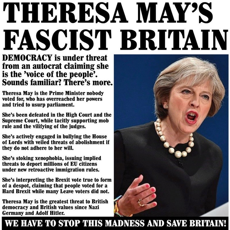 Are the Tories velvet glove fascists? - Page 26 Theres12
