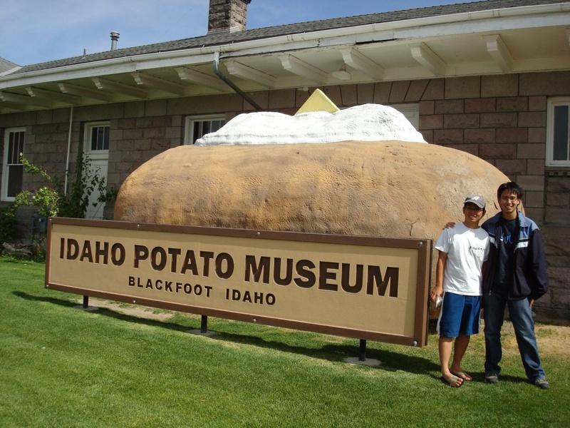 IDAHO set available Potato10