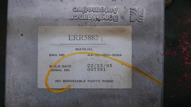 Compatibilité ECU GearBox Image55