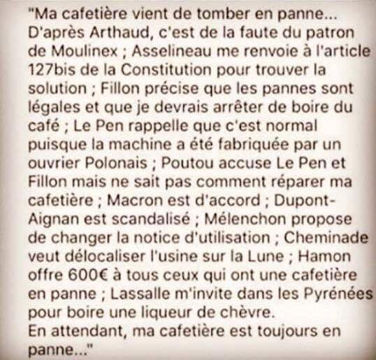 PRESIDENTIELLES 2017. - Page 2 Cafete10