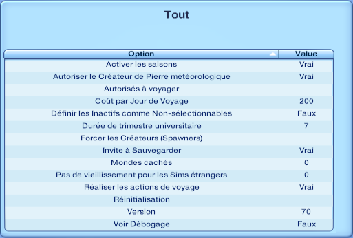 [Fiche] Le traveler de Nraas Menu10