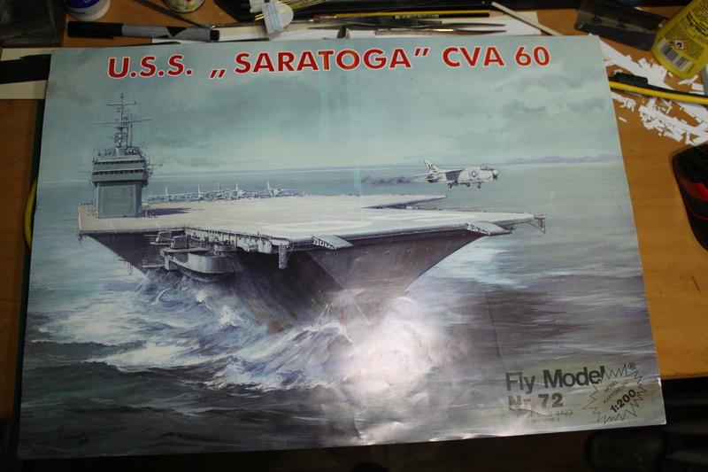 U.S.S. Saratoga CVA 60 von Fly Model in 1:200 gebaut von Emaat Img_3210