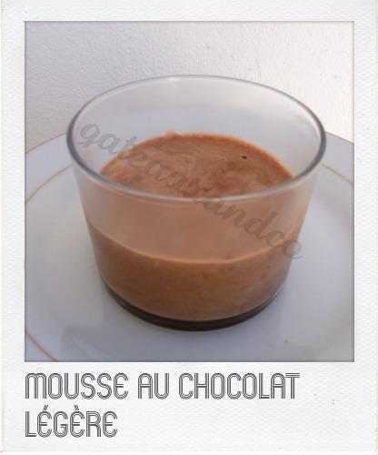 Mousse au chocolat sans beurre sans jaune d'oeuf Image414
