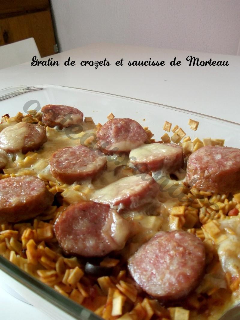 gratin de crozets à la saucisse de Morteau Photo_33
