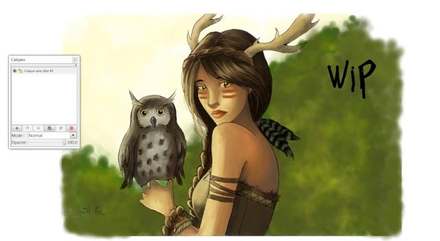 Salut ! ( un fille et une chouette ) Wiiipp11