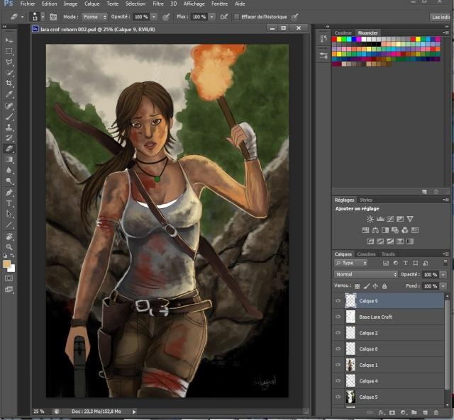 Lara croft  Wip_310