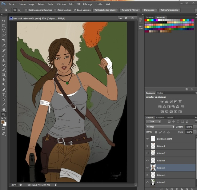 Lara croft  Wip_co10