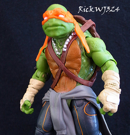 Ninja Turtles (2014) : Figurines du film Paramount  - Page 2 Mikey010