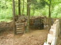 début d'améliorations et de fortifications du camp 1 Diver211