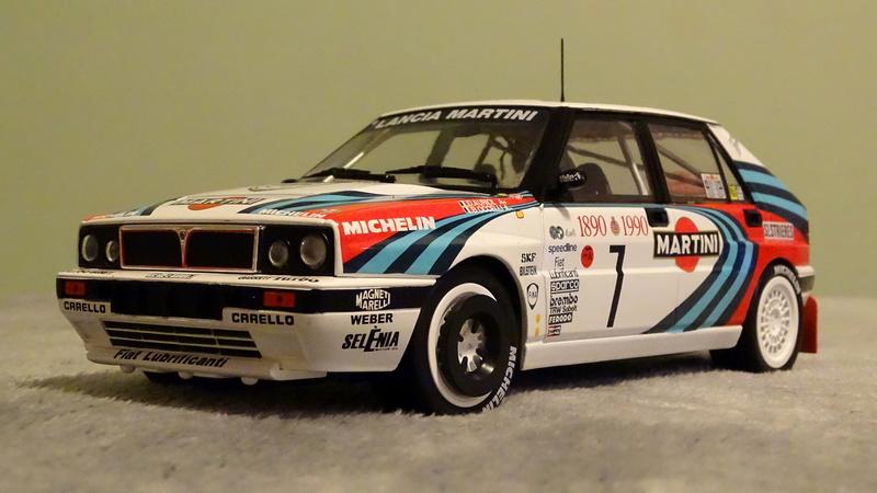 "Delta HF Integrale 16v Rallye Monte Carlo 1990 "" Auriol-Occeli ""  Z_deal12"
