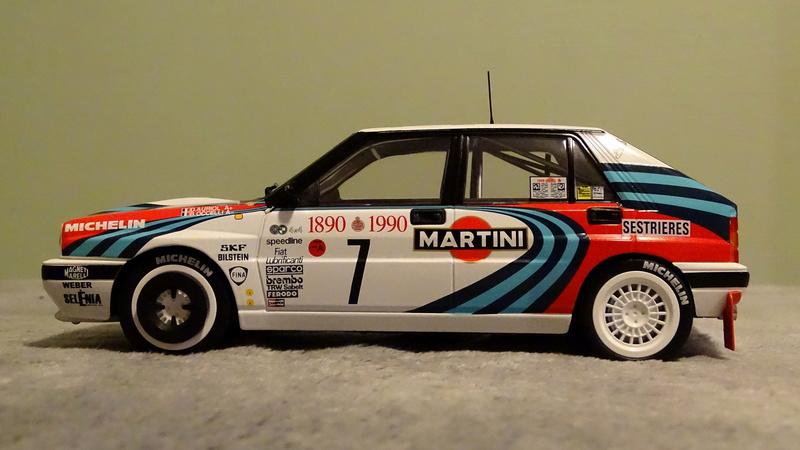 "Delta HF Integrale 16v Rallye Monte Carlo 1990 "" Auriol-Occeli ""  Z_delt27"