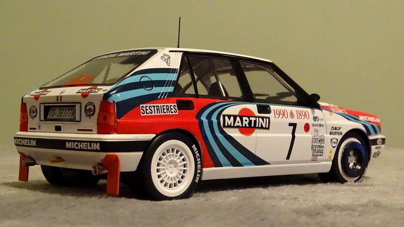 "Delta HF Integrale 16v Rallye Monte Carlo 1990 "" Auriol-Occeli ""  Z_delt28"