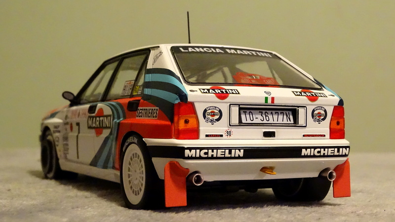 "Delta HF Integrale 16v Rallye Monte Carlo 1990 "" Auriol-Occeli ""  Z_delt29"