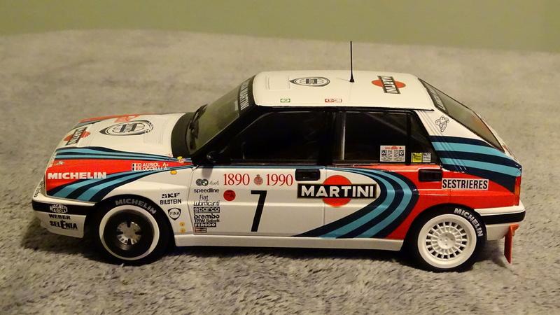 "Delta HF Integrale 16v Rallye Monte Carlo 1990 "" Auriol-Occeli ""  Z_delt30"