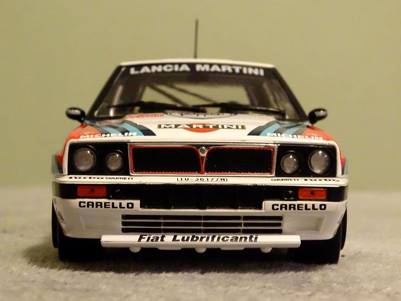"Delta HF Integrale 16v Rallye Monte Carlo 1990 "" Auriol-Occeli ""  Z_delt31"