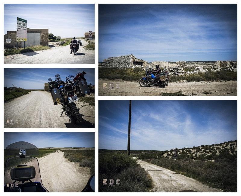 l'EDC en Espagne: Monegros - désert des Bardenas  Mentie19