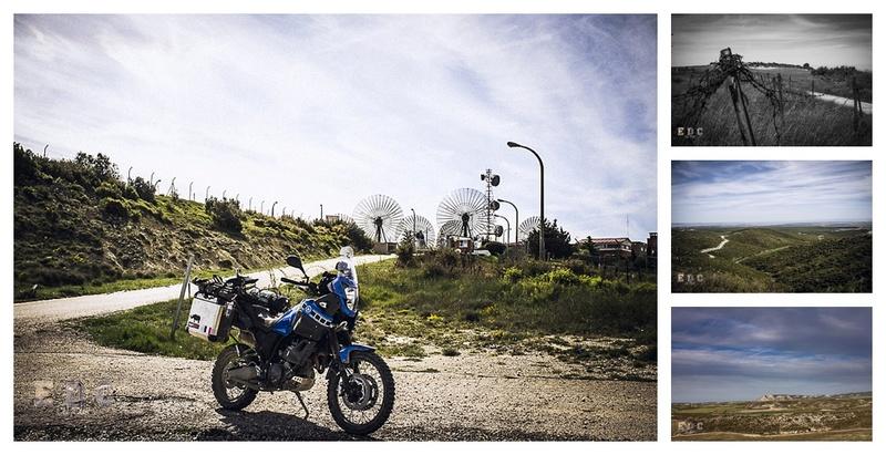 l'EDC en Espagne: Monegros - désert des Bardenas  Mentie22