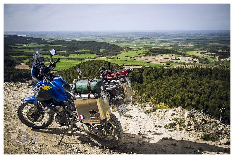l'EDC en Espagne: Monegros - désert des Bardenas  Mentie23