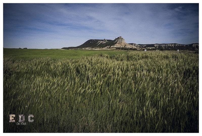 l'EDC en Espagne: Monegros - désert des Bardenas  Mentie24