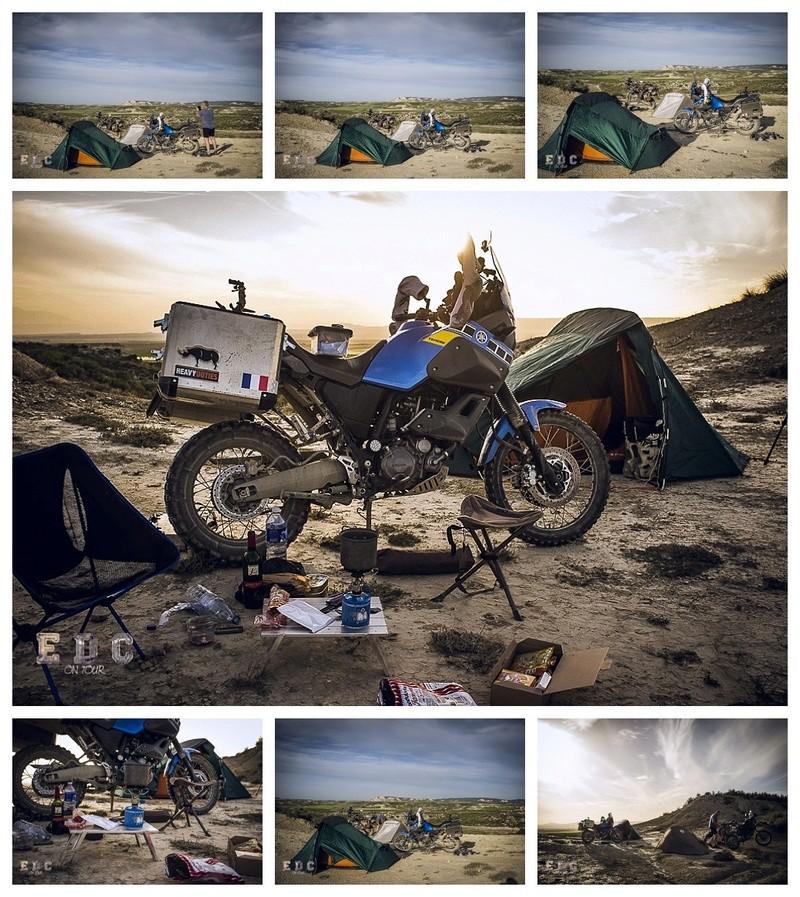 l'EDC en Espagne: Monegros - désert des Bardenas  Mentie26