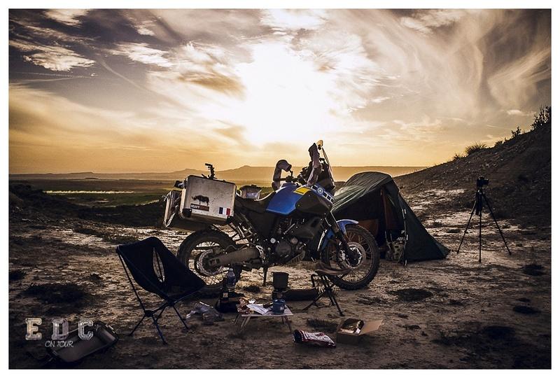 l'EDC en Espagne: Monegros - désert des Bardenas  Mentie27