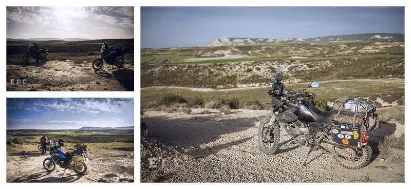 l'EDC en Espagne: Monegros - désert des Bardenas  Mentie35