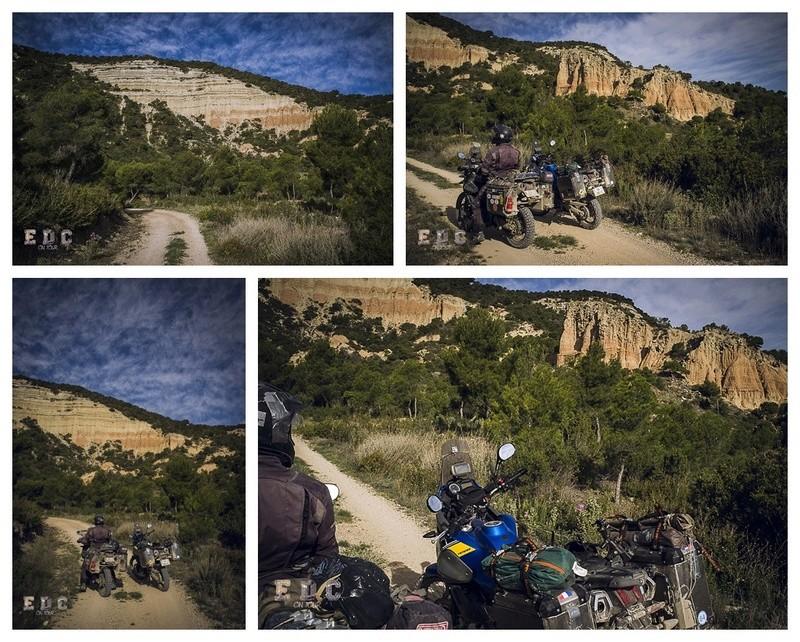 l'EDC en Espagne: Monegros - désert des Bardenas  Mentie36