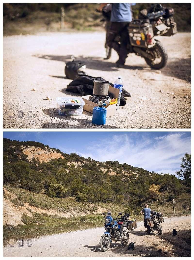 l'EDC en Espagne: Monegros - désert des Bardenas  Mentie39