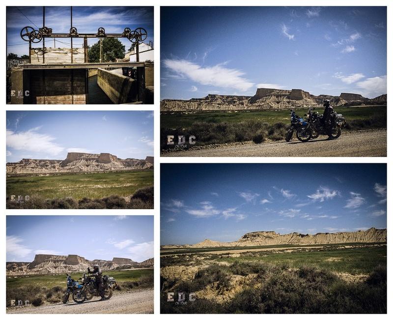 l'EDC en Espagne: Monegros - désert des Bardenas  Mentie40
