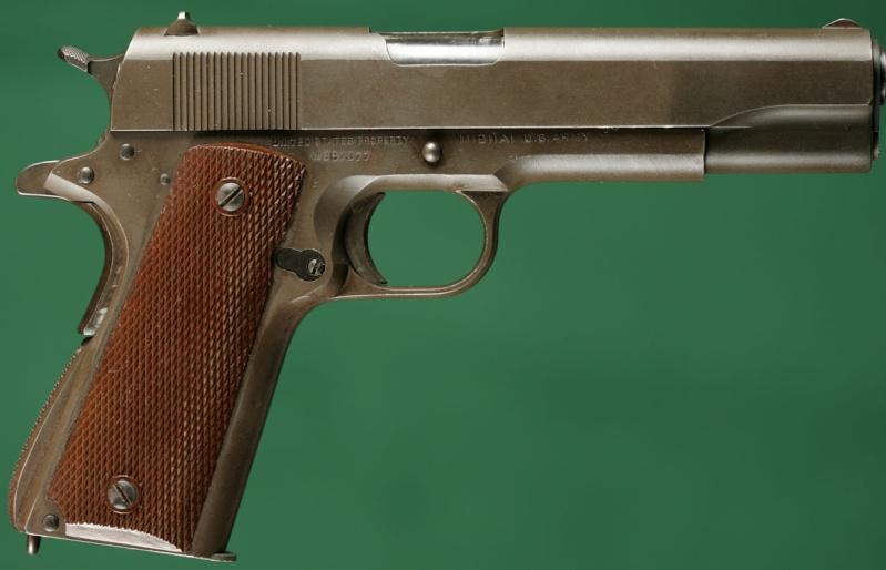 SAM 1911 .45  retour d'impressions SVP Colt1910