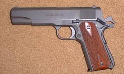 SAM 1911 .45  retour d'impressions SVP Spring10